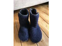 Men's slippers slipper boots White Stuff size 9-10