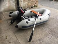 INFLATABLE AND OUTBOARD FOR SALE