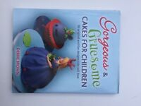 Various cake decorating books