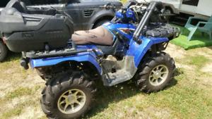 2008 Polaris Sportsman 800 new motor/brakes/battery Poss.Trade