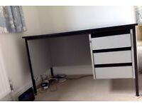Grey Lockable Desk - collect Nottingham