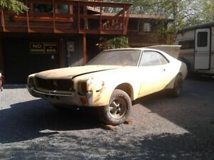 1969 amc javelin sst resto project