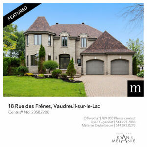 Turn key home for Sale - Vaudreuil-sur-le-Lac