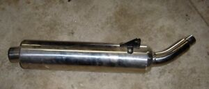 Triumph Factory Exhaust Can