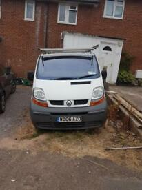 Renault traffic 1.9dci 06 van