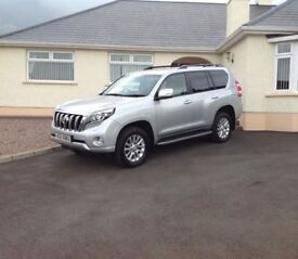 2015 Toyota Landcruiser 3.0 d4d I-con fully loaded +++ 1 local retired gentleman owner from new