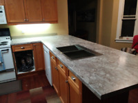 Dave's Countertop -  Supply and installation (laminate)