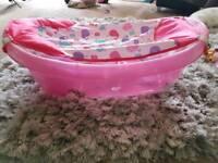 Summer sparkle baby bath