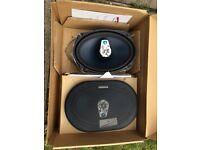 Audiobahn speakers 6 x 9 3way speakers brand new never used