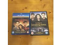 Dvd & Blu-ray Twilight 1 & 2