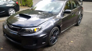 2011 Subaru Impreza WRX STi Dark Grey Metallic Sedan