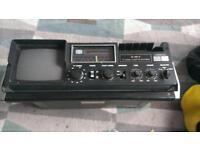 retro tv radio