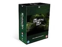 BREAKING BAD - complete series boxed - mint condition