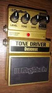 Digitech Tone Driver electric guitar pedal.Older early version