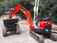 SPR MICRO DIGGER AND DRIVER HIRE AND LIGHT HAULAGE