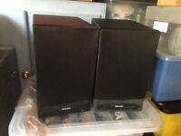 Phillips Model DCB152 speakers