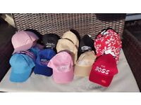 Job lot of 100 x Summer Hats ..perfect for shops,markets,car boot and online
