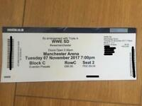 WWE Smackdown Live Ticket TV Taping MCR 07/11/17