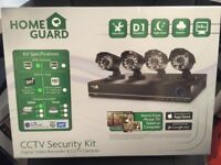 Brand New Home Guard CCTV Security Kit