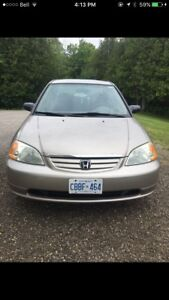 HONDA CIVIC NEED GONE ASAP