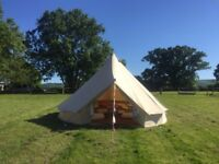 5m Bell Tent - Ex Hire - 4 for Sale