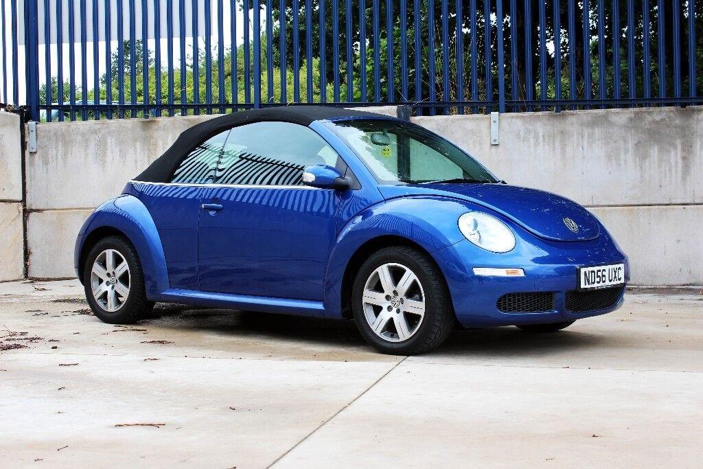 2006 Volkswagen Beetle 1.6 Convertible (Low Miles)