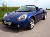TOYOTA MR2 1.8 VVT-I ROADSTER 138BHP ~ Very low miles !!!