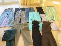 Bundle of Womens Trousers 18 pairs size 10