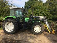 Deutz-Fahr Agrostar tractor