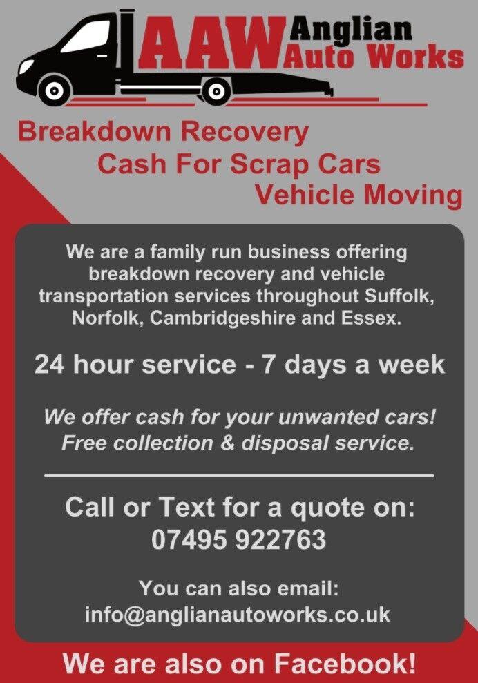Scrap My Car -Cash Paid For Scrap Cars | in Lakenheath, Suffolk ...