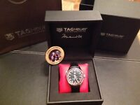 Brand New Unworn Genuine Tag Heur CARRERA CALIBRE 5 MUHAMMAD ALI EDITION