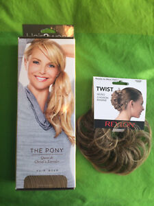Pony tail extension and hair twist