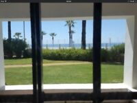 PUERTO BANUS, MARBELLA - HUGE INVESTMENT OPPORTUNITY 360m2 FRONTLINE BEACH GARDEN APARTMENT