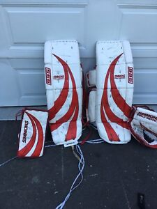 Goalie set to trade for 32 and matching set
