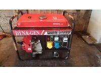 Generator Petrol Dyna Gen 2.5kw