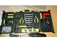 Tool set with electric drill