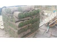 Fresh turf grass bought for £339.15 with each roll cost 3.99
