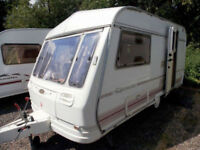 Coachman Genius 390/2 1996 2 Berth End Kitchen Lightweight Touring Caravan