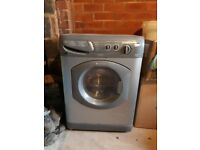 HOTPOINT WD440 AQUARIUS 1400 SPIN WASHING MACHINE (with dryer function) Grey/Silver
