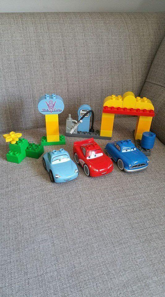 Lego Duplo Set 5815 Flos V8 Cafe Disney Cars In