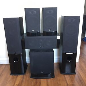 Ikon Home Theatre Speakers - $500