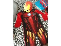 Iron man costume and accessories