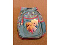 Disney Frozen Girls Backpack Excellent Condition Like New