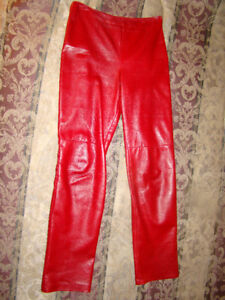 Danier suede and leather pants for sale