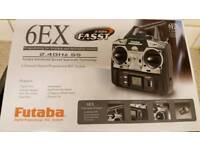 FUTABA 6EX 2.4GHz R/C system excellent condition