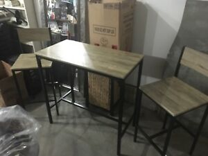 Tall/small kitchen table & chairs