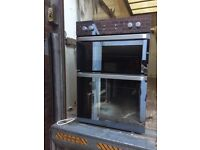 Beko Built in Double Electric Oven Mirrored Doors New and Unused