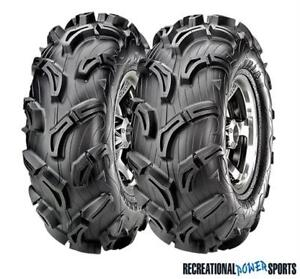 "CLEARANCE // MAXXIS ZILLA 30"" ATV TIRES ON ITP SS212 BLACK RIMS"