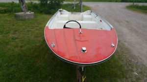 14 foot fiber glass boat