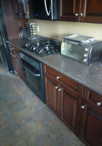 Countertops with sink